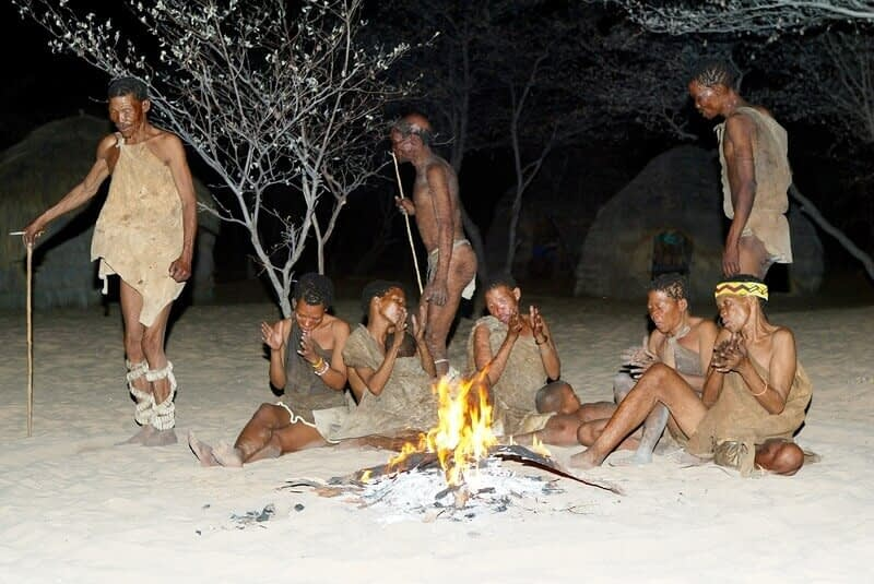 10000 years ago we settled down permanent villages 1