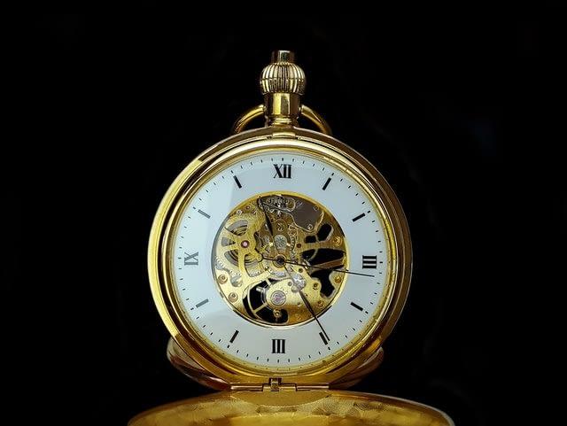 clock showing 2325
