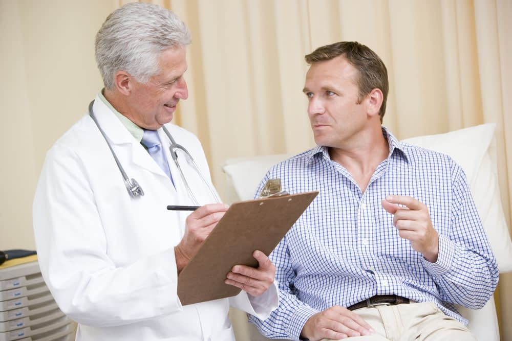 doctor asking eating habits erectile dysfunction