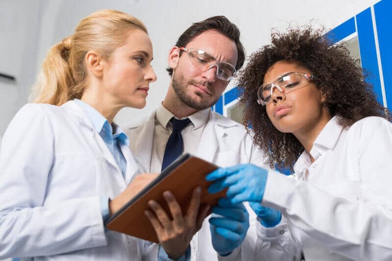 doctors reviewing ed results