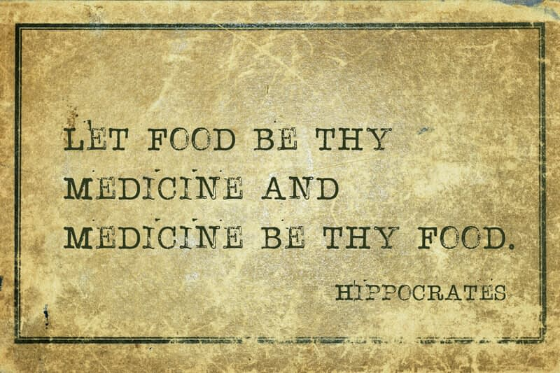 let food be thy medicine and medicine thy food
