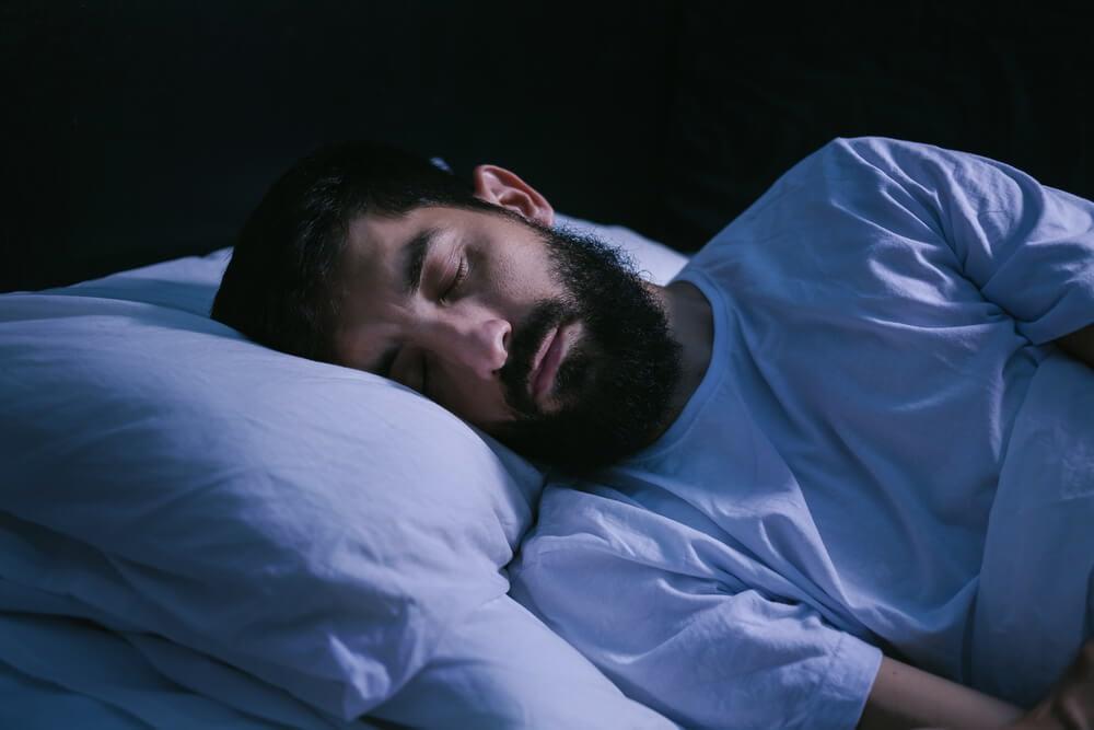 man has fallen asleep