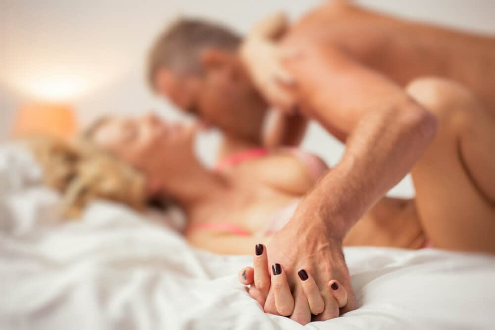 mature couple having sex