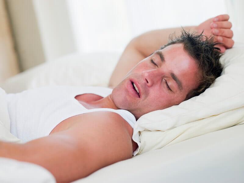 orgasm makes man tired