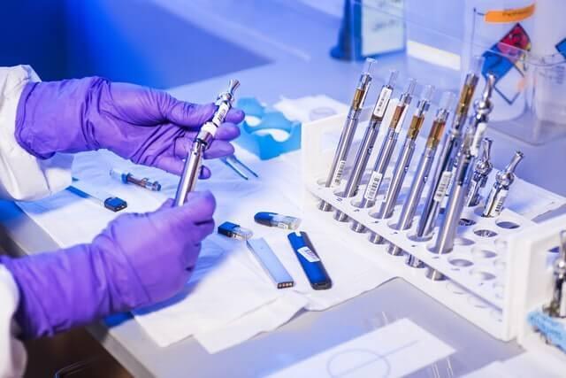 scientific study done in laboratory