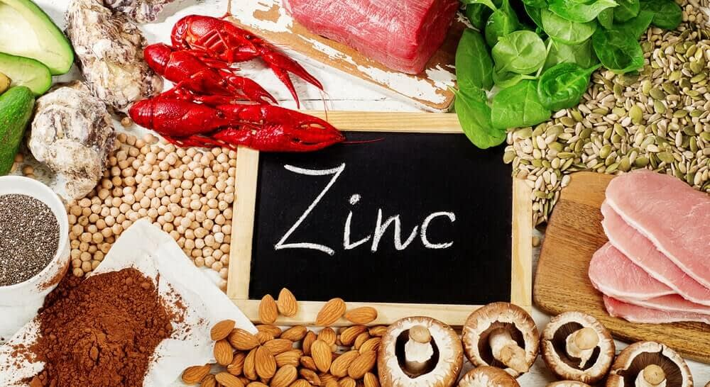 which foods contain zinc