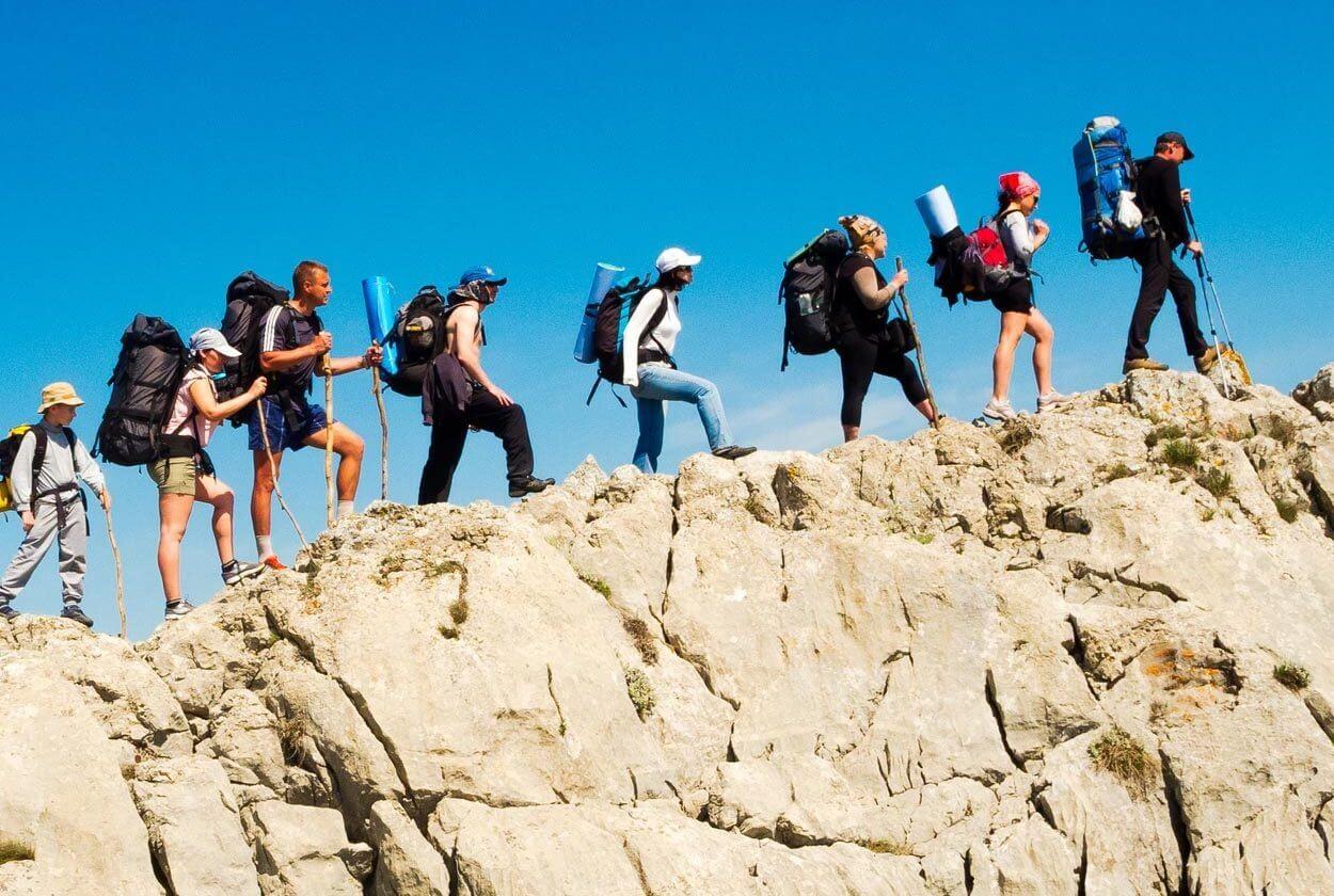 hiking vacation